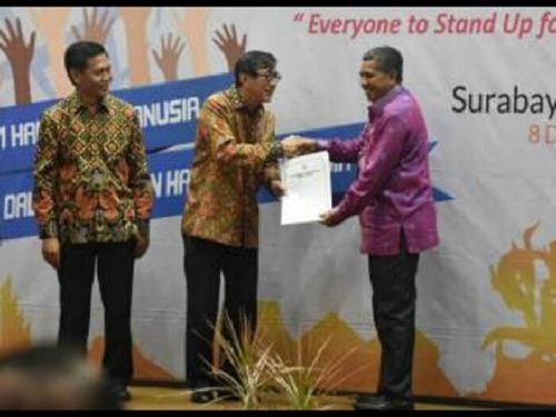 Kabupaten Siak Kembali Raih Anugerah HAM