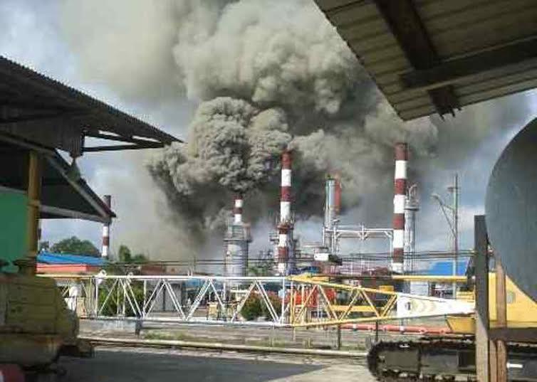 Dapur CDU Terbakar, Kilang Pertamina Pakning Sempat Berhenti Operasional