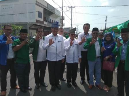 Firdaus-Rusli Effendi Cagub dan Cawagub Pertama Kampanye di Meranti