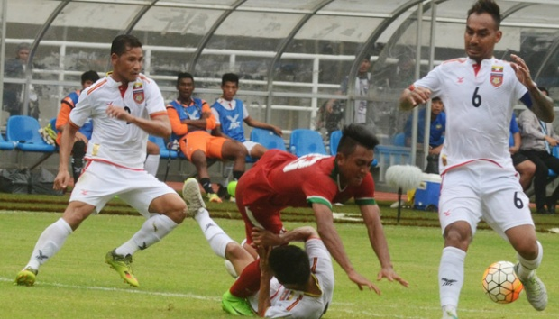 Pelatih Myanmar Puji Tampilan Febri Haryadi di Timnas U-22