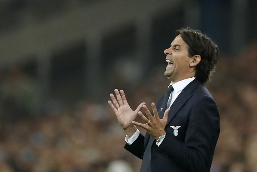 Inzaghi Merasa Lazio tak Pantas Kalah