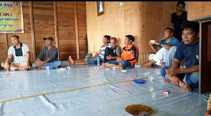 Tim Polsek Pelangiran, BBKSDA Riau dan PT THIP Sambangi Lokasi Kejadian