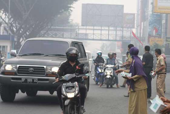 Jokowi Minta Gubernur Peka dan Padamkan Api