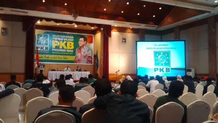 Menguji Hasil Survei, PKB Riau Gelar Muspim Wilayah Hadapi Pilgubri 2018