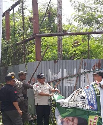 Ribuan Pengawas Akan Tertibkan APK di Pekanbaru.