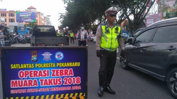 Polresta Pekanbaru Gelar Operasi Muara Takus 2019