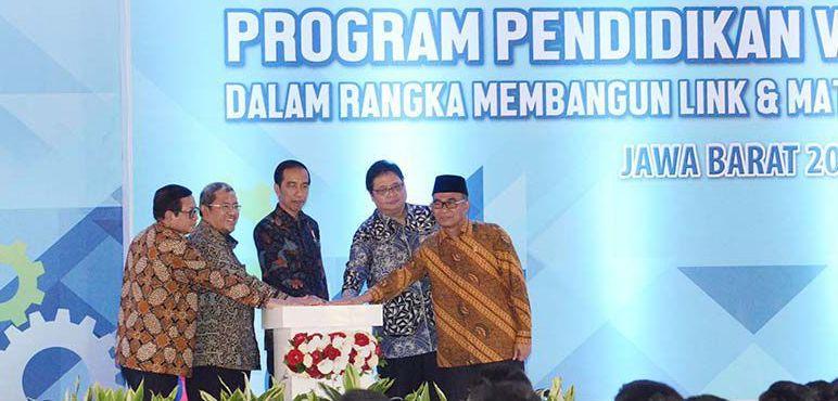 Ribuan SMK Ikut Program Vokasi Industri.