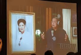 Seruling di Lembah Sunyi Ungkapan Perasaan SBY Atas Kepergian Ibu Ani Yudhoyono