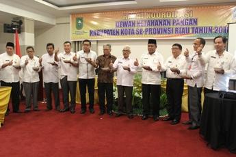 BKP  Gelar Rakor Se Provinsi Riau Tahun 2016