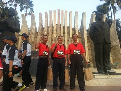 Wakili Riau, Dr Syahril dan Ismet Hadiri HUT RI di Istana