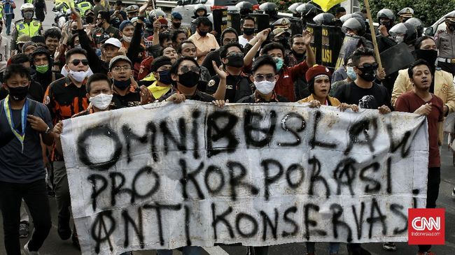 Tolak Omnibus Law, Mahasiswa Se-Indonesia Demo 8 Oktober