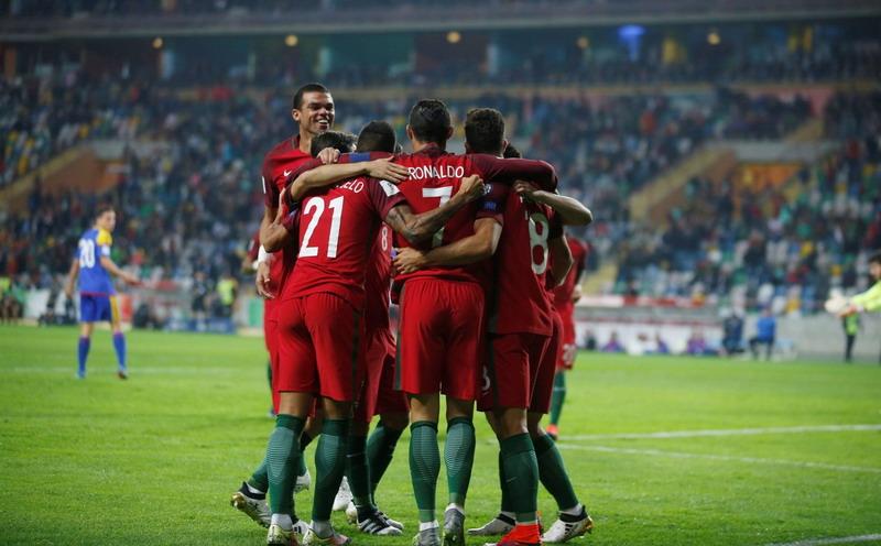 Portugal Pukul Latvia 4-1