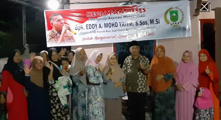 Reses, Eddy A Mohmd Yatim Disambut Kenduri Warga Jalan Siak