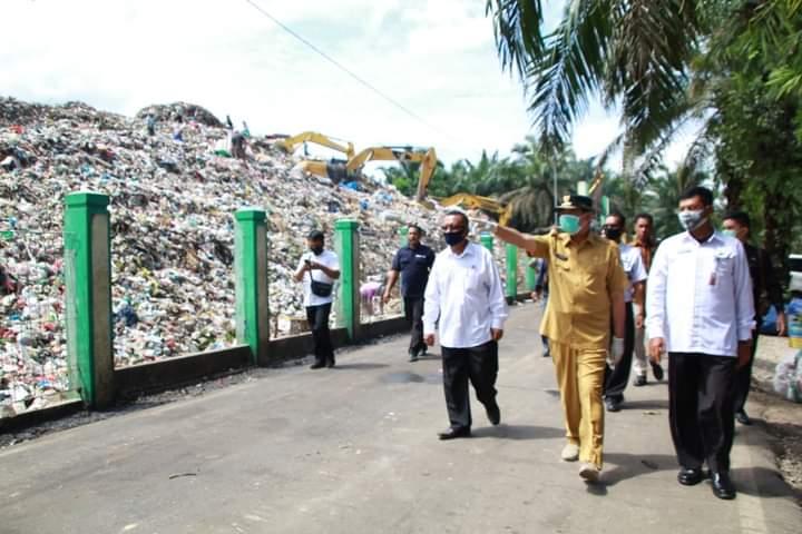 DLHK Pekanbaru Terapkan Konsep Sanitary Landfil di TPA Muara Fajar