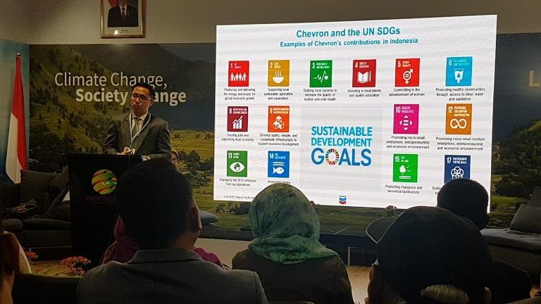 Chevron Dukung Pelestarian Lingkungan dan Pencapaian Tujuan Pembangunan Berkelanjutan PBB
