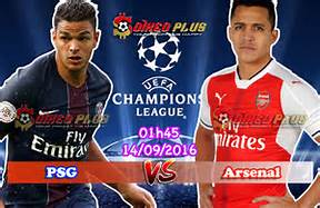 PSG vs Arsenal Berakhir Imbang 1-1