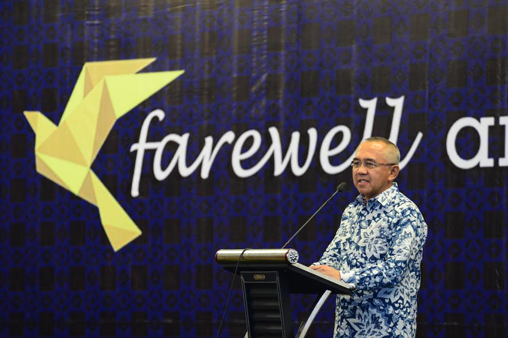 Gubri hadiri Farewell Amnesti Pajak