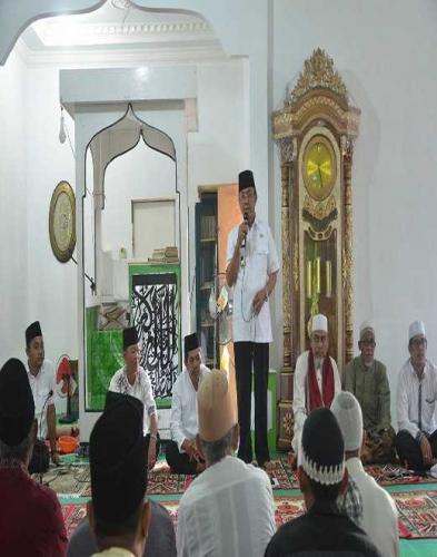 Bupati Inhil Adakan Dialog dengan Masyarakat Tanjung Lajau,