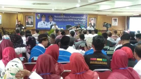 Pemko Pekanbaru Gelar Musrenbang RPJMD 2017-2022