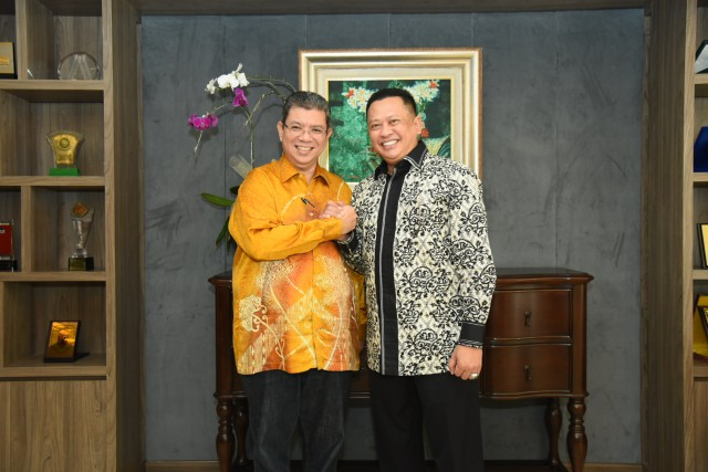 DPR Siap Berbagi Pengalaman dengan Malaysia