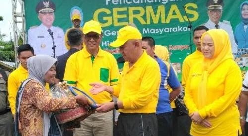 Gubernur Riau Bersama Bupati Kampar Resmikan Empat Puskesmas  di Kampar