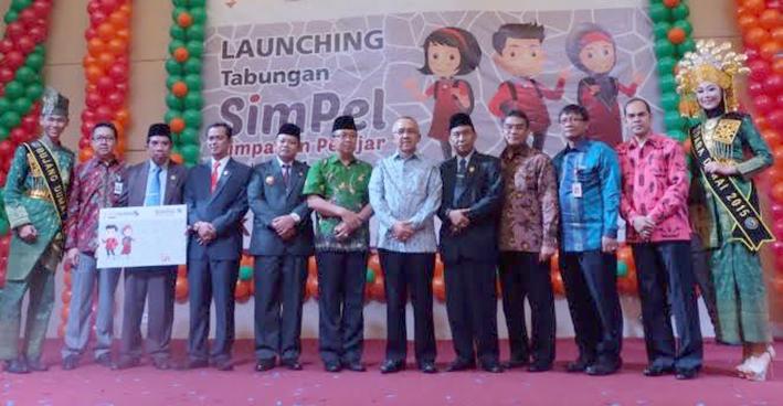 Dorong Pelajar Menabung, Bank Riau Kepri Luncurkan SIMPEL