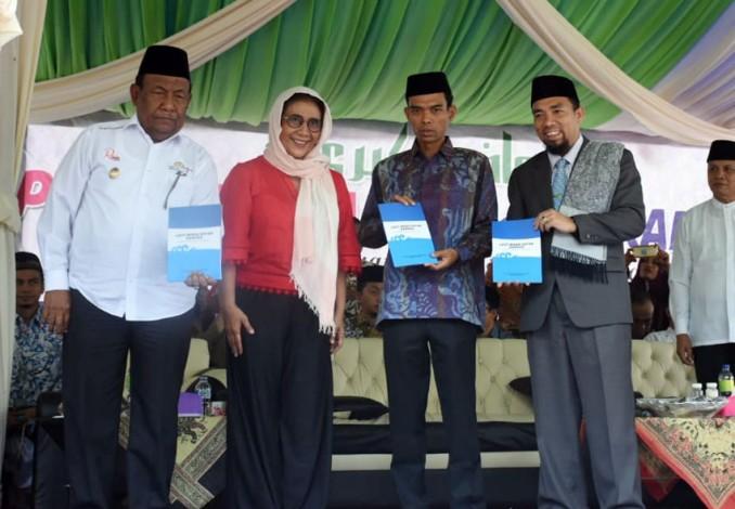 Usai Dengar Ceramah Abdul Somad Menteri Susi Ajak Makan Ikan Bersama di Ponpes IBS