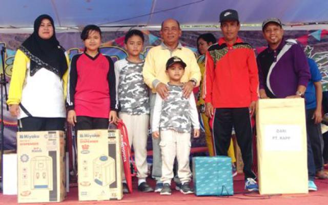 Bupati M Haris Hadiri Soft Opening Wisata Alam Danau Kajuid