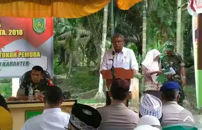 TMMD Ke 101, Pemkab Inhil Nilai Masyarakat Bangkit Bersama TNI