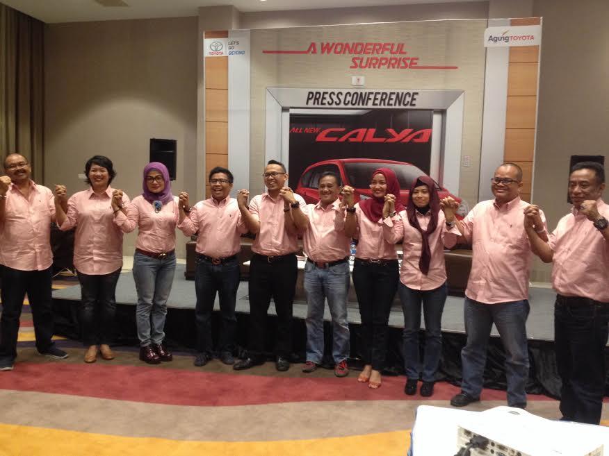 Toyota All New Calya Hadir di Pekanbaru