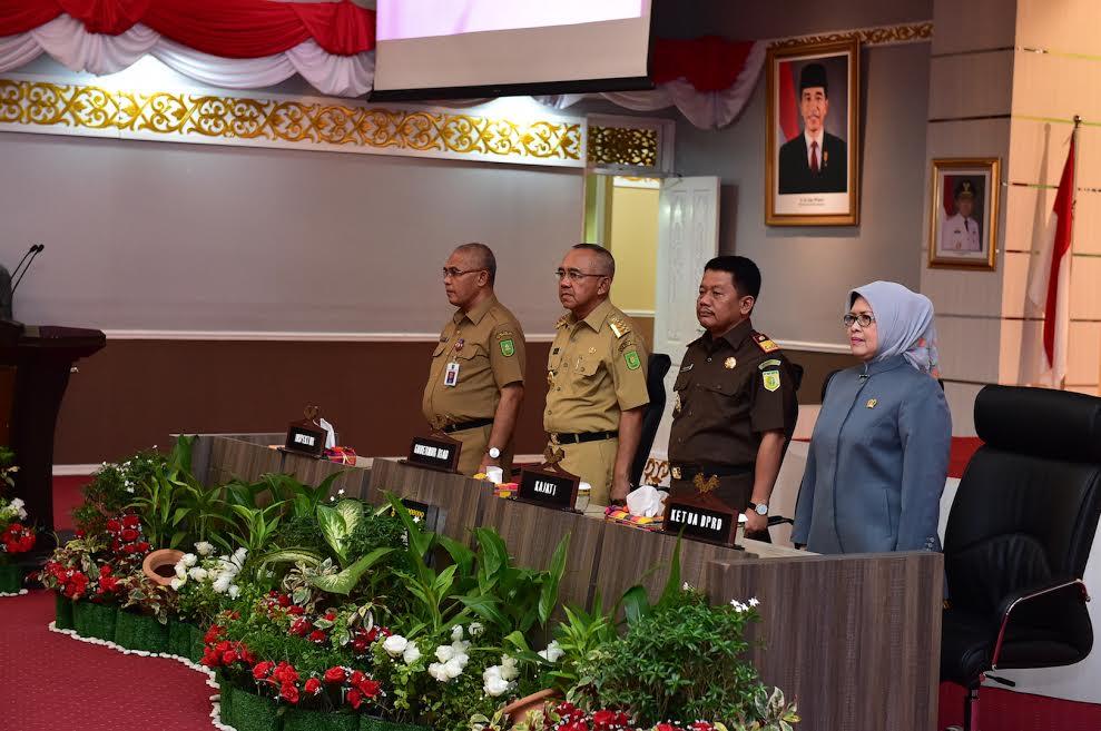 Gubri Hadiri Penandatanganan Mou Pemprov Dan Kejaksaan Tinggi Riau