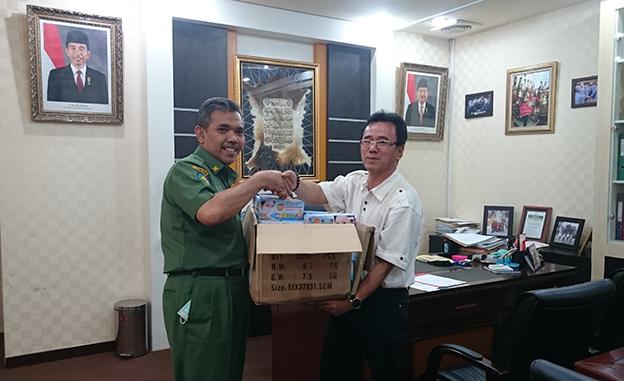 Sinar Mas Group Serahkan 20.000 Masker untuk Pelajar di Riau