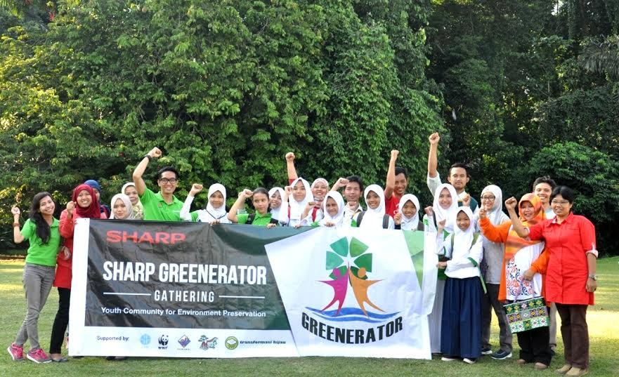 SHARP Greenerator, Konsisten Kampanyekan 'Stop Penggunaan Kantung Plastik'