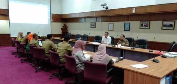Pansus DPRD Riau Hearing Dengan BPSDM Pansus Targetkan Ranperda Budaya Integritas