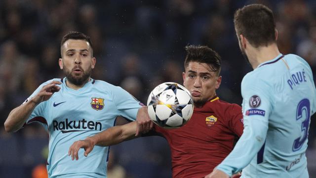 Barcelona Ukir Catatan Pilu Setelah Disingkirkan AS Roma