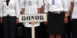 Ribuan Tenaga Honorer Pemkab Kuansing Menangis