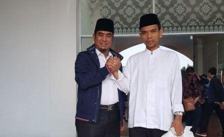 Ustad Abdul Abdul Isi Tausiah Perhelatan Akbar NU Riau