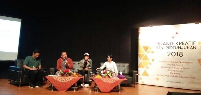 Bakti Budaya Djarum Foundation Motivasi Seniman Muda Riau