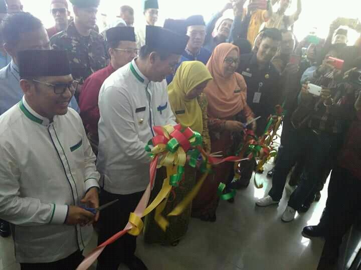 Walikota Pekanbaru Resmikan RSD Madani Kota Pekanbaru