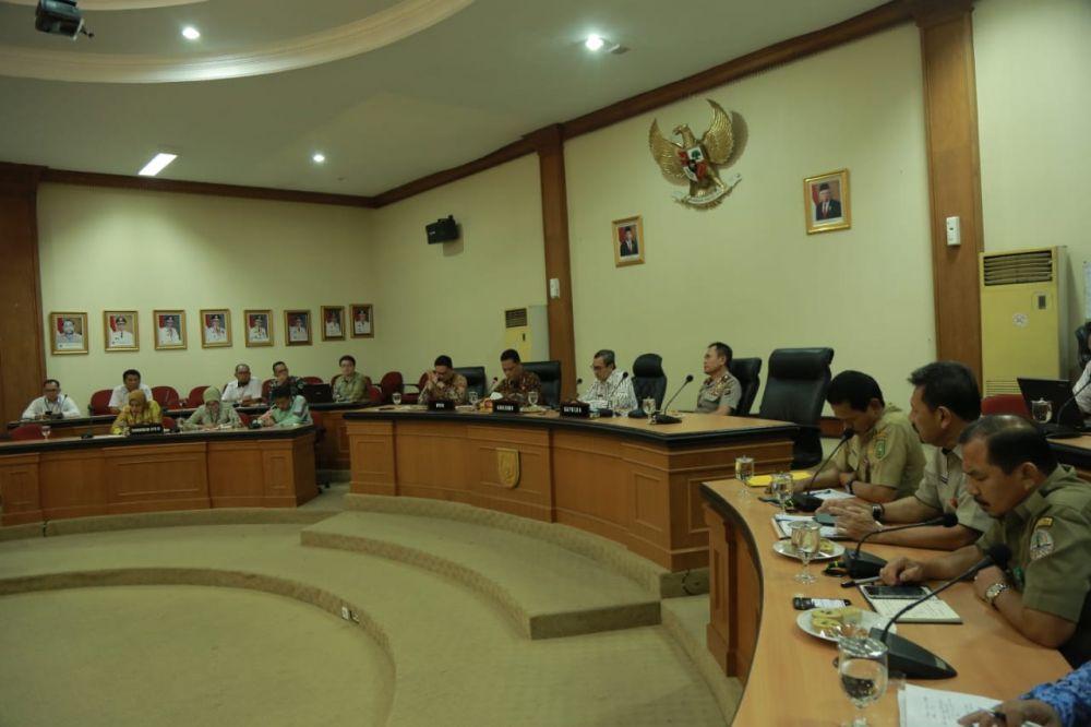 Pemprov Riau Gelar Pertemuan dengan DPD RI
