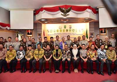 Bupati Inhil Bakal Implementasikan Hasil Rakor Pengawasan Daerah