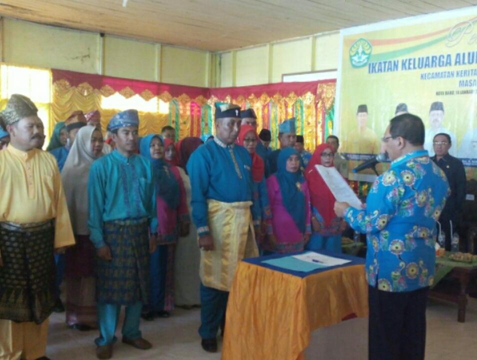 Bupati Inhil Harapkan Kontribusi IKA UR Dalam Membantu Pembangunan Sampai ke Desa-Desa