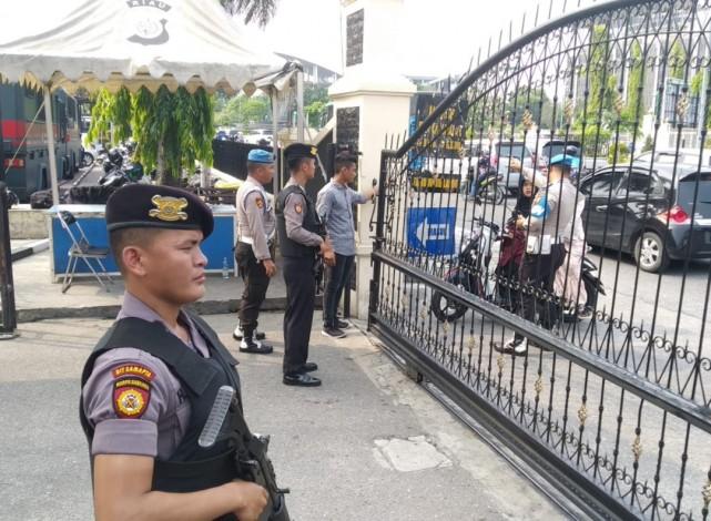 Polda Riau Perketat Penjagaan