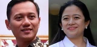 Ada Puan dan Agus Harimurti Yudhoyono.