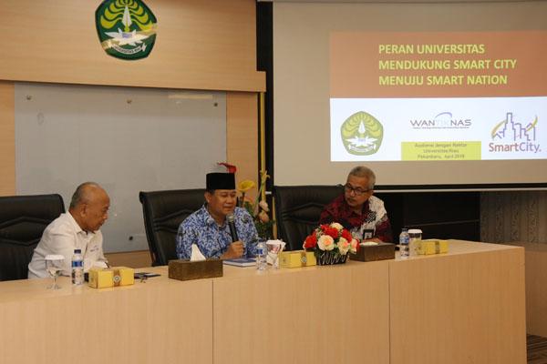 """Unri Menjadi Model """"Smart Campus"""" Untuk Wilayah Sumatera"""