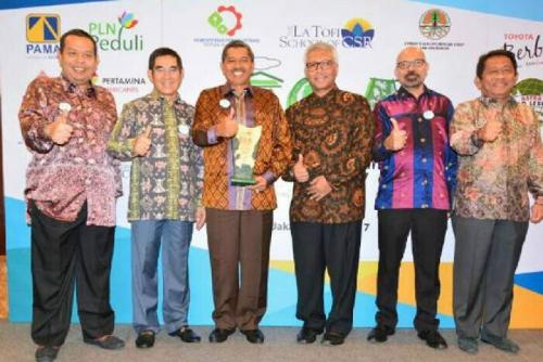 Pemkab Siak Terima Anugerah Indonesia Green City Award
