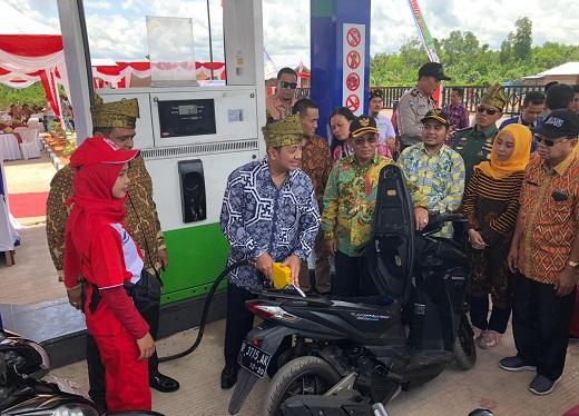 Pasokan BBM di Riau Dipastikan Cukup Hingga Akhir Tahun