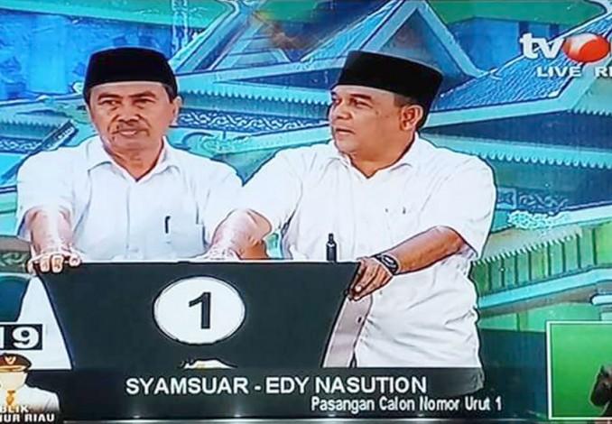 Mengatasi Narkoba di Riau Versi Cawagubri Edy Nasution