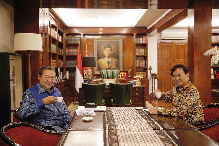 SBY-Prabowo Bertemu Jumat Sore, Sekjen Demokrat Sebut Pelatihnya Turun, Analisa Babak Kedua