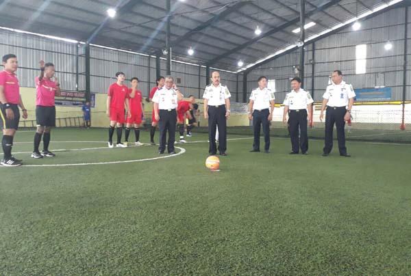 Dishub Gelar Kompetii Futsal.